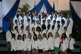 Trinity SOM White Coat Ceremony Sept 2012
