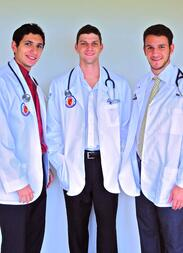 Caribbean Medical Students from Trinity School of Medicine