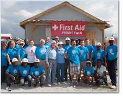 Medical Team in Haiti with Habitat for Humanity