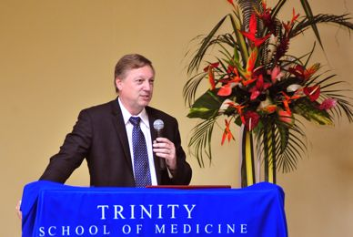 Dr. Skelton Announced as Dean of Trinity School of Medicine