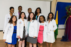 Trinity Pre-Medical Program Students Promoted to the MD program