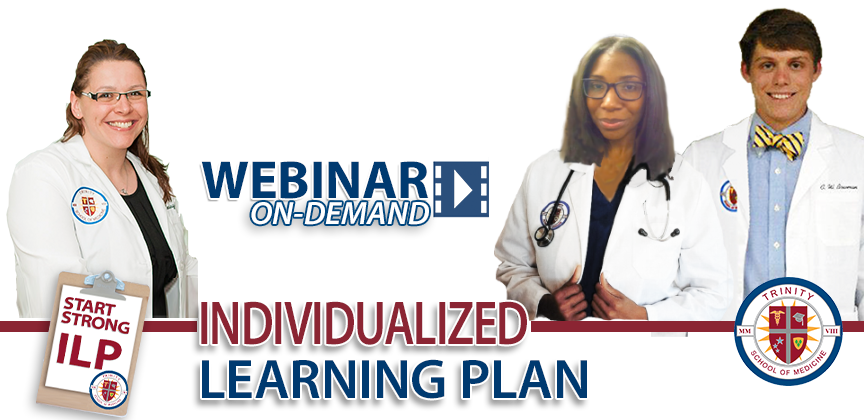 Succeed in Med School: Individualized Learning Plan On-Demand Webinar