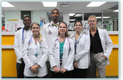 Hands-On Clinical Exposure Starting Year One - Trinity School of Medicine