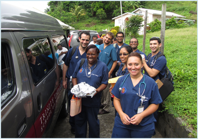 Trinity Participates with Village Doctor Program to Serve Community