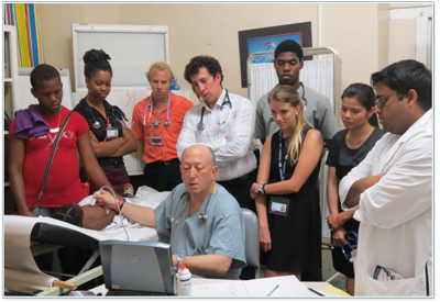 Trinity SOM Students Assist World Pediatric Project in St. Vincent