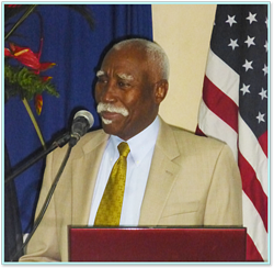 Governor General of St. Vincent and the Grenadines Sir Ballantyne, MD