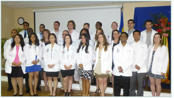 New Medical Students Begin Journey with Trinity School of Medicine
