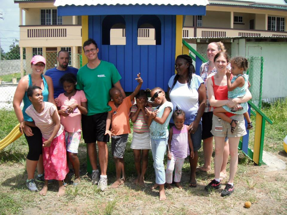 Trinity Students Wrap up a Day of Service at Children's Home