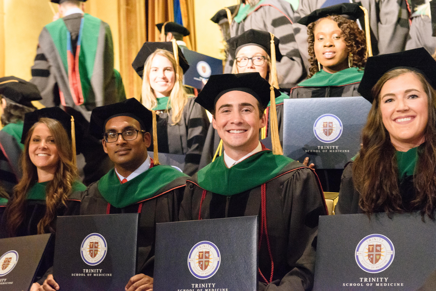 Trinity's 2018 Graduates Receive Their Diplomas at the commencement event June 2nd