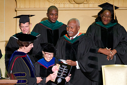 Dr. Margaret Anderson is honored