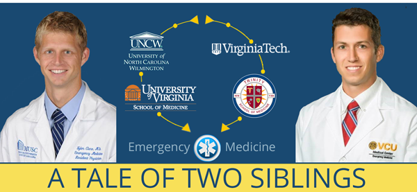 Read about two doctors, Dr. Clare from Trinity and Dr. Clare from UVA.