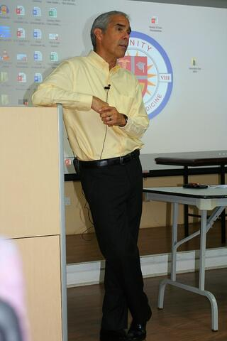 Dr. Anthony Falsetti answering questions