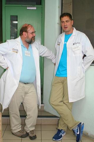 Dr. Gordon and Dr. Roth
