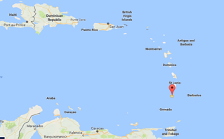 St Vincent And The Grenadines Trinity School Of Medicine - Saint vincent and the grenadines map