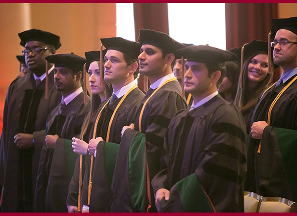 Students Graduating from Trinity School of Medicine