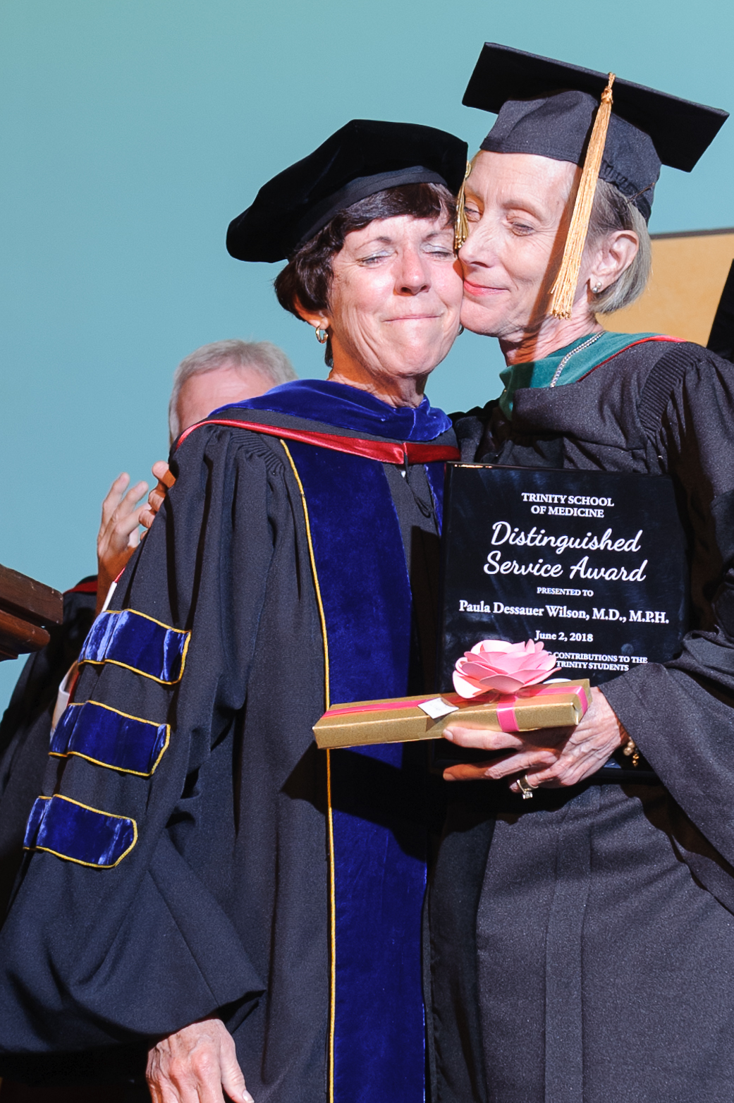 Dr. Paula Wilson Received a Distinguished Service Award