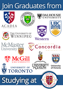 Join graduates from Canadian Universities who attend Trinity School of Medicine
