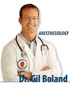 Dr. Gil Boland, Anesthesiology Resident