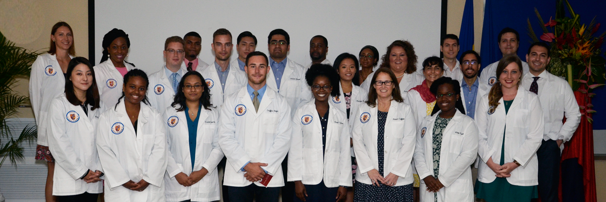 May 2016 Incoming Class at Trinity School of Medicine