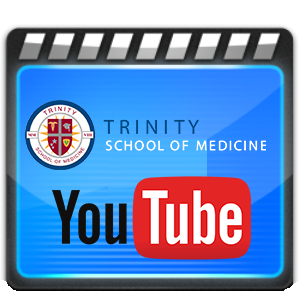 Custom Trinity School of Medicine YouTube Icon