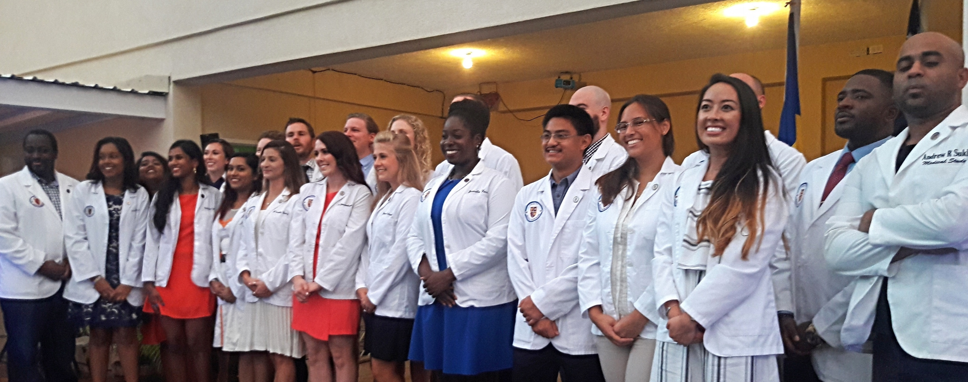 Trinity School of Medicine Holds August 5th Term Ceremony