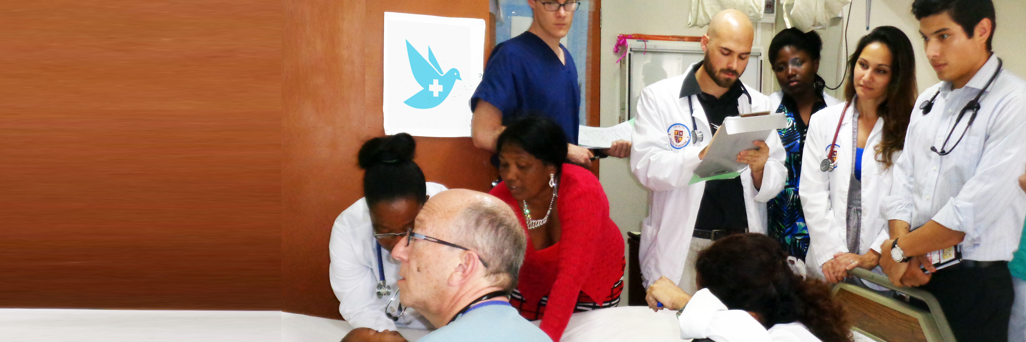 Trinity Students Join World Pediatric Project for Cardiology Mission in St. Vincent