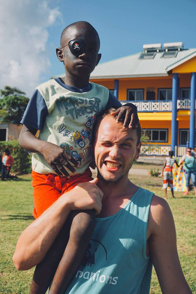 Trinity School of Medicine Students Hold Carnival at Local Children's Home