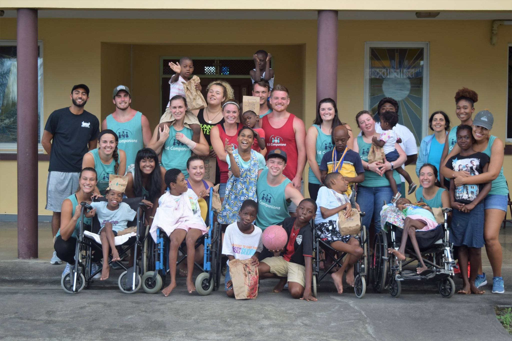 Trinity School of Medicine Students Surprise Orphans with Easter Egg Hunt
