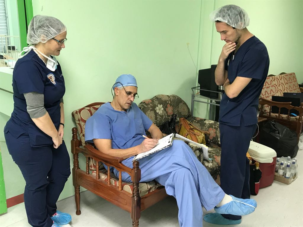 Trinity School of Medicine Students Join World Pediatric Project Surgical Scoliosis Clinic