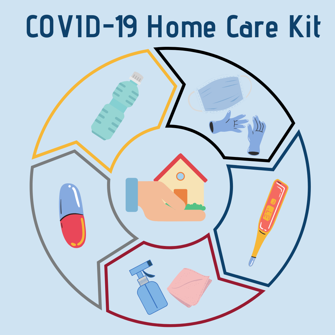 Tips for creating a COVID-19 Home Care Kit