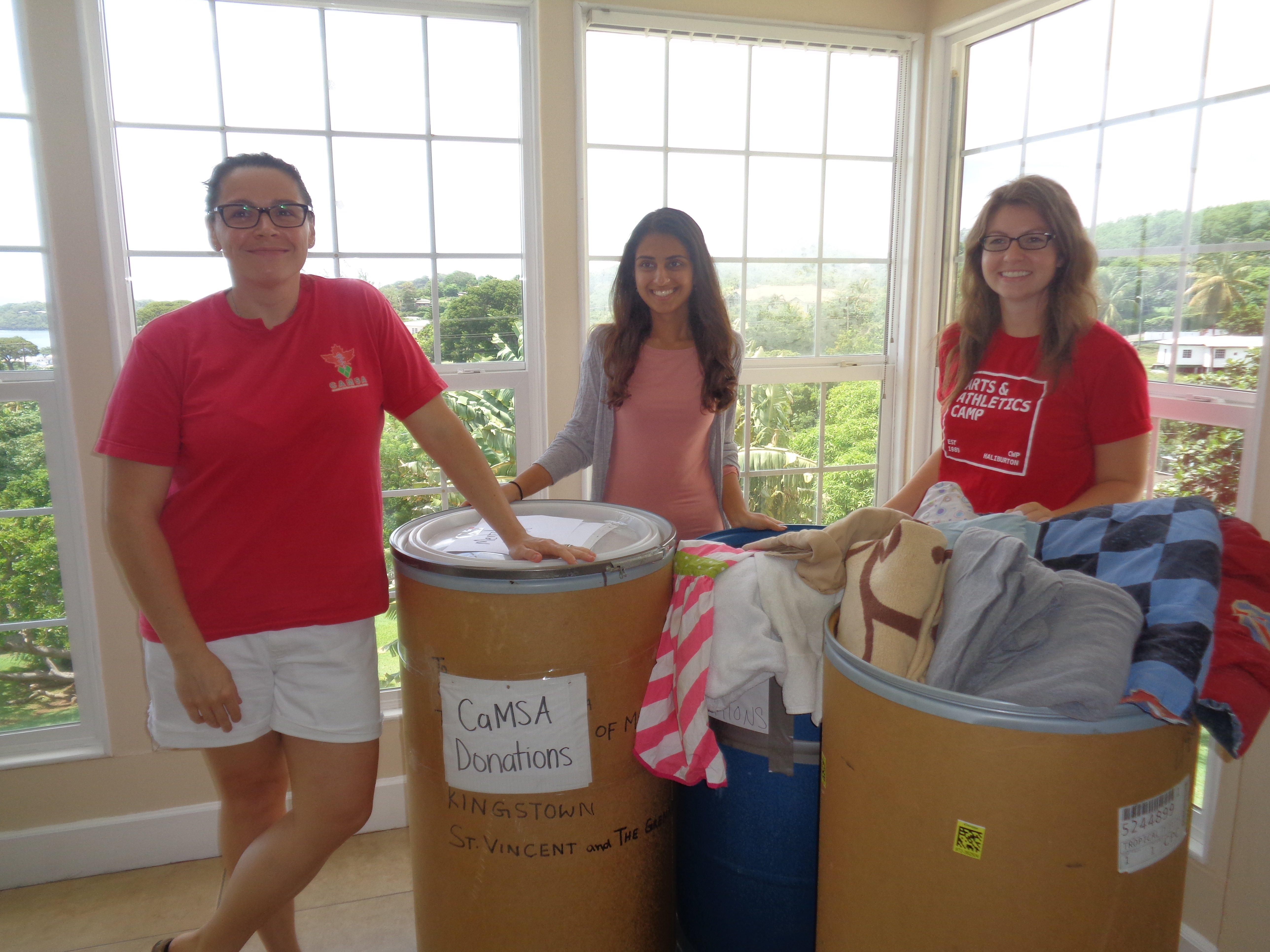 Trinity School of Medicine's CaMSA Chapter Provides Necessary Supplies to Mental Health Facility