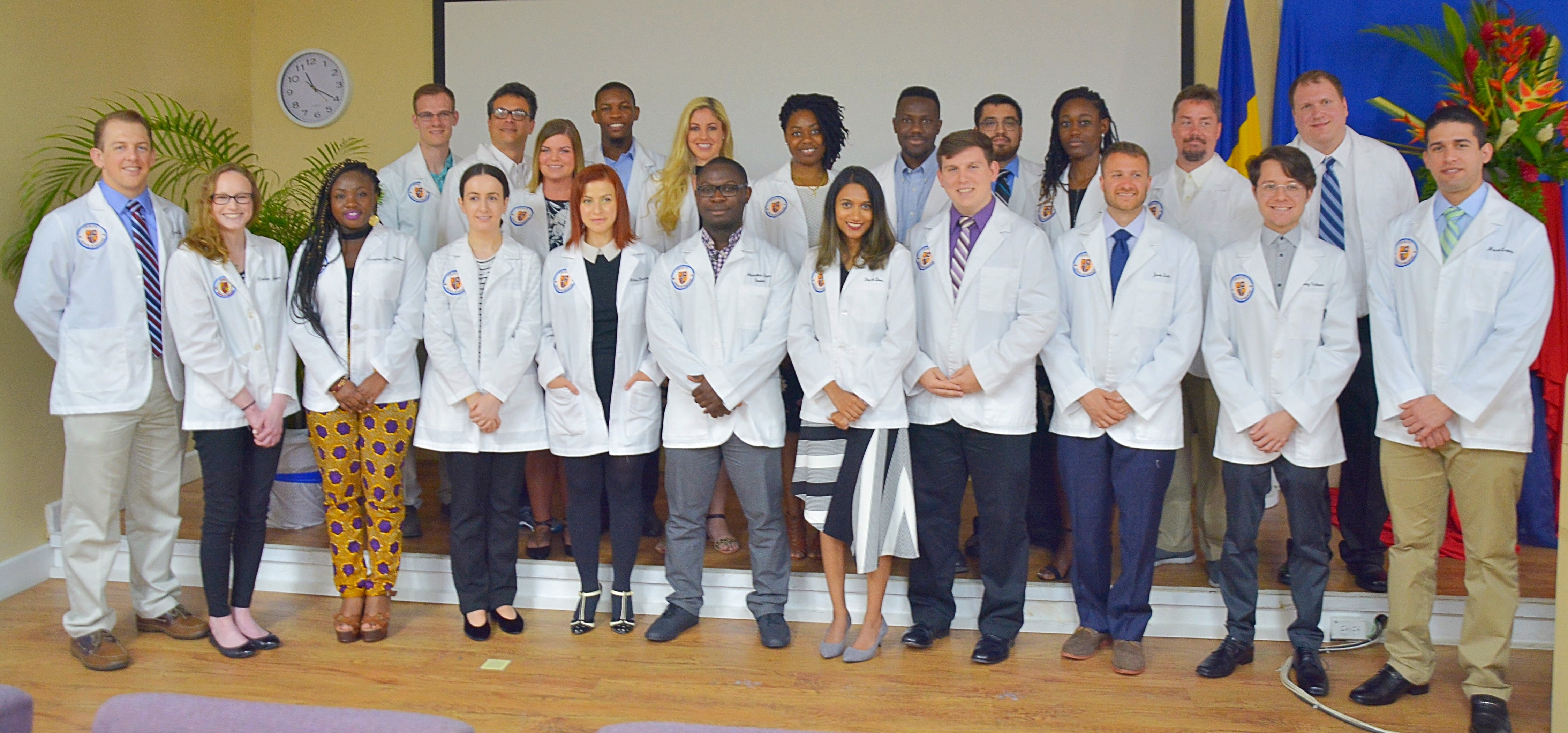 May 2018 White Coat Ceremony Welcomes New Students to Trinity