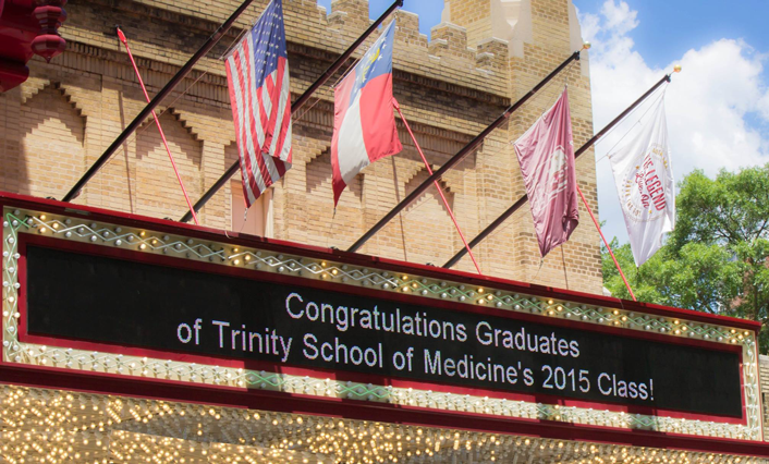 Congratulations to the Trinity School of Medicine Class of 2015