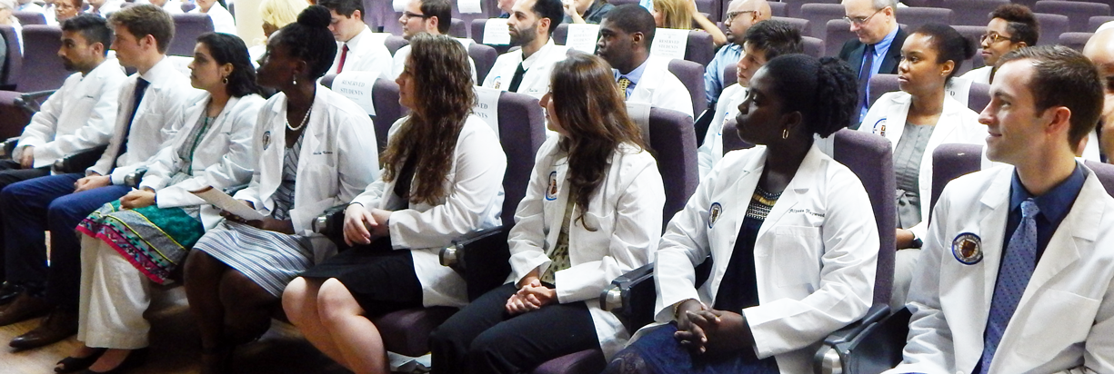 January 2017 Incoming Students Participate in the White Coat Ceremony at Trinity School of Medicine