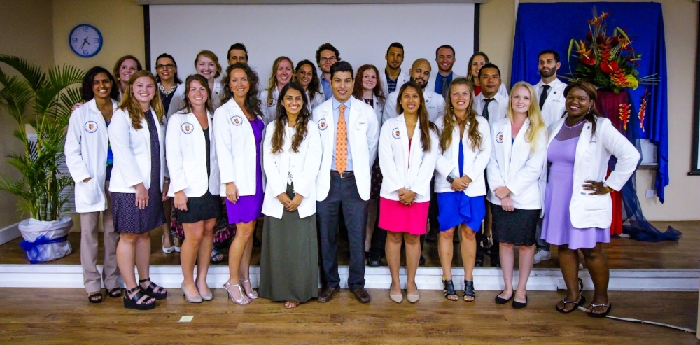 Trinity School of Medicine Holds Fifth Term Ceremony for Class of 2019