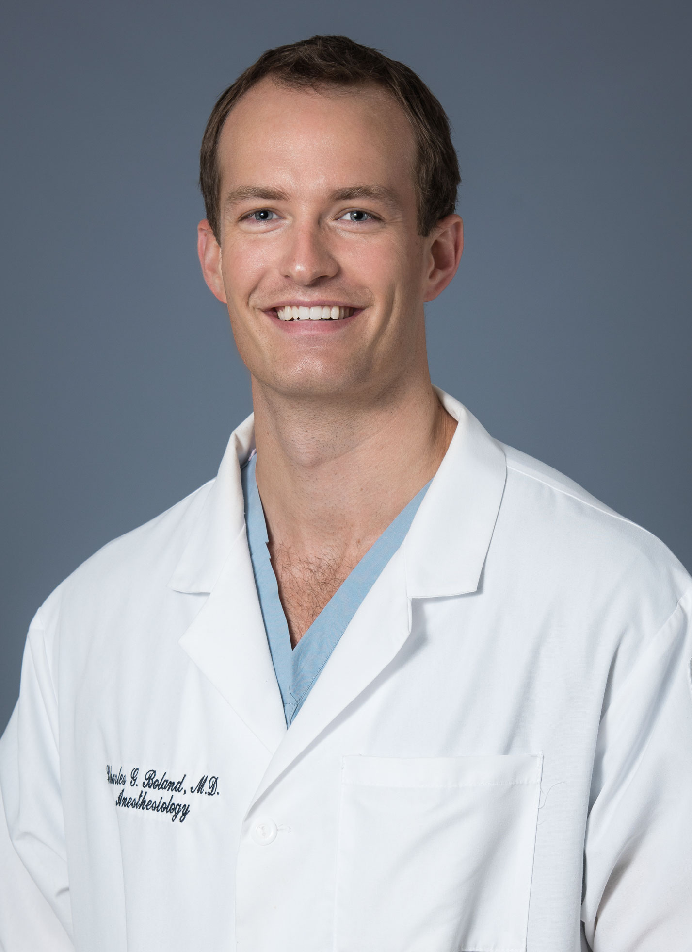 Dr. Charles Gil Boland, Trinity Grad and CCHHS chief resident