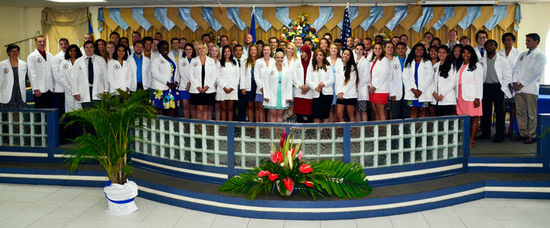 Trinity Celebrates its September 2015 White Coat Ceremony