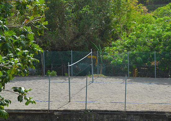 Trinity SOM Volleyball Area