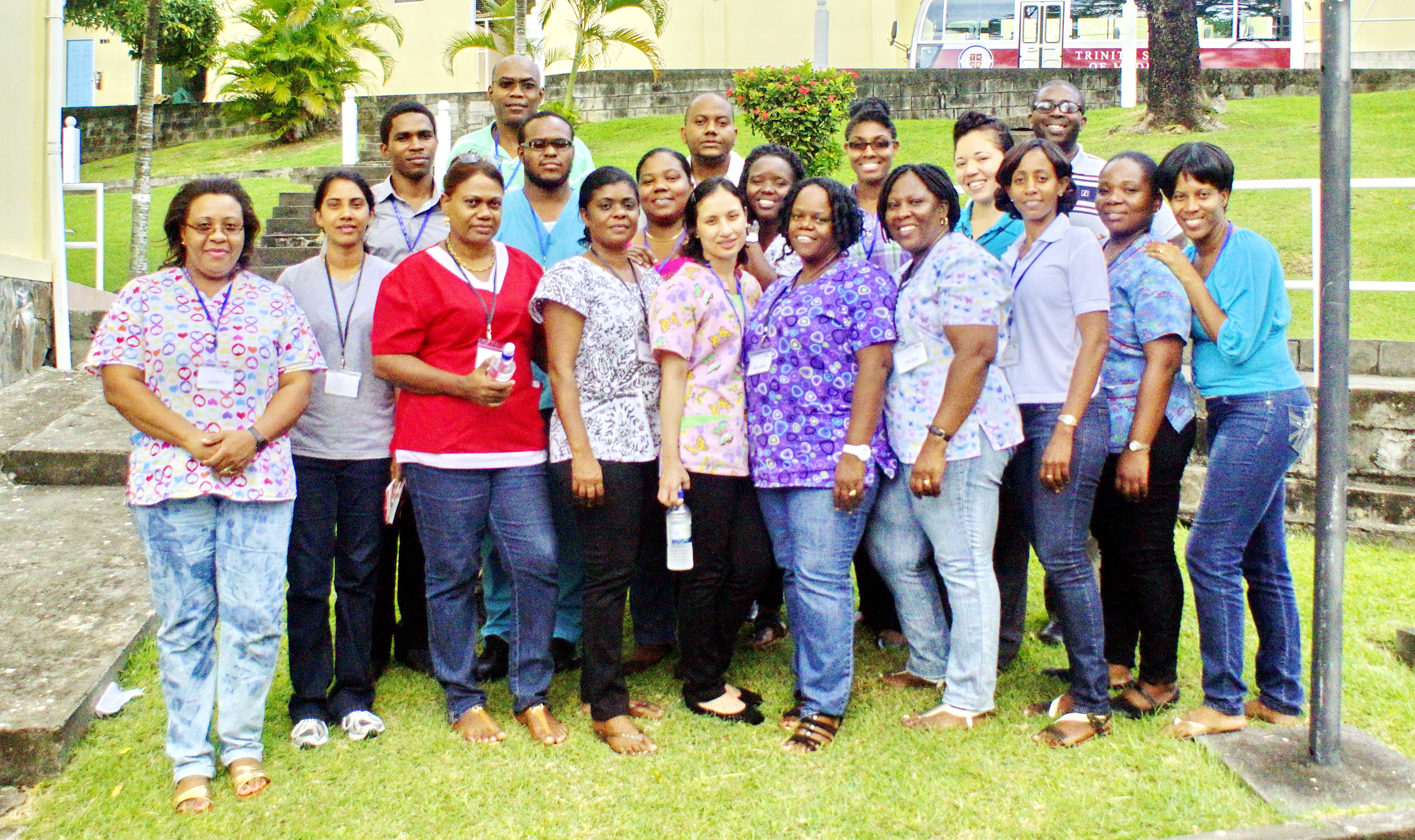 Trinity teams up with the Pan American Health Organization to provide Advanced Cardiac Life Support Training