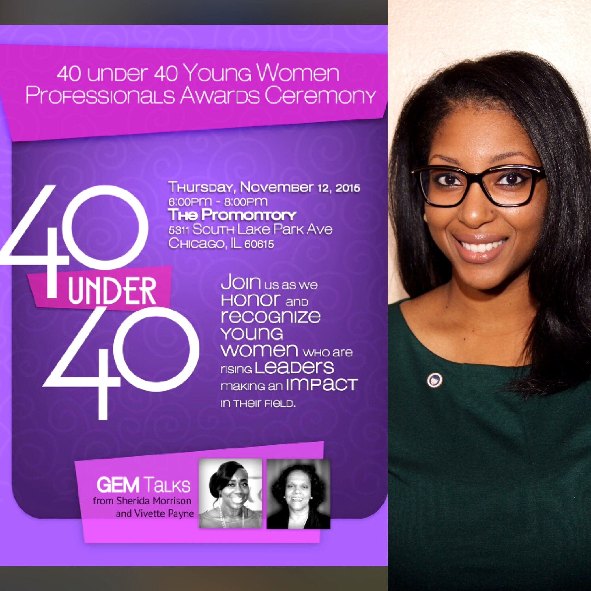 Trinity Student Named One of Chicago's 40 Under 40 by Women's Community Organization