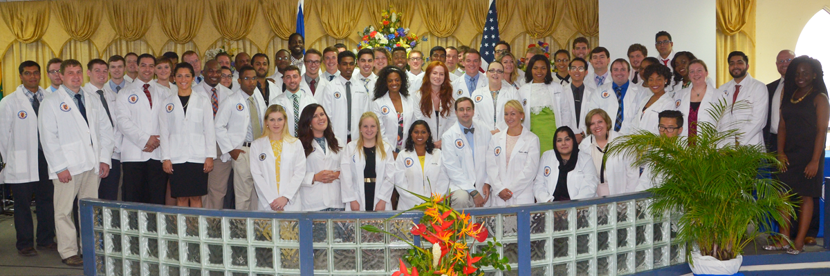 September 2016 Incoming Students at the White Coat Ceremony