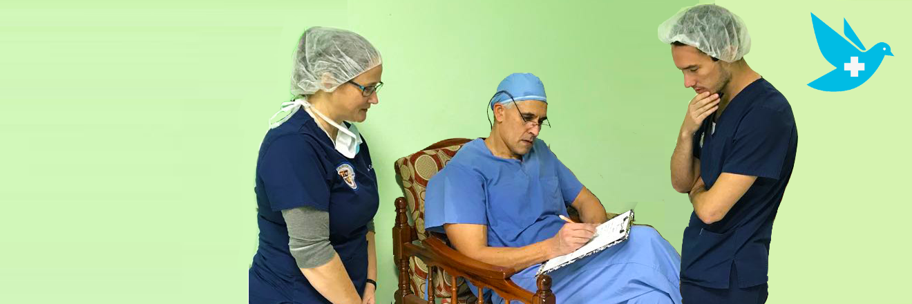TSOM Students Join World Pediatric Project Surgical Scoliosis Clinic