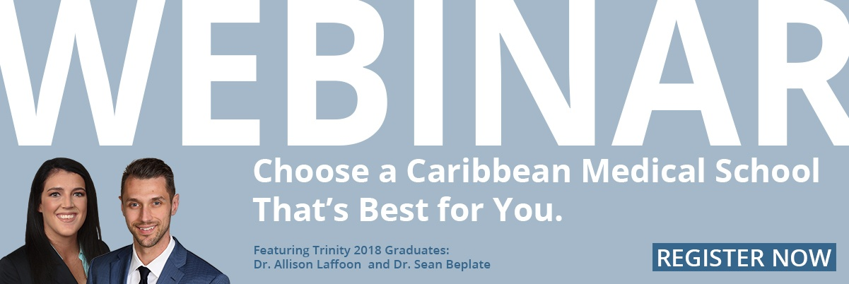 Register for the Webinar Series featuring Trinity Alums and hear why Trinity was the ideal program for them