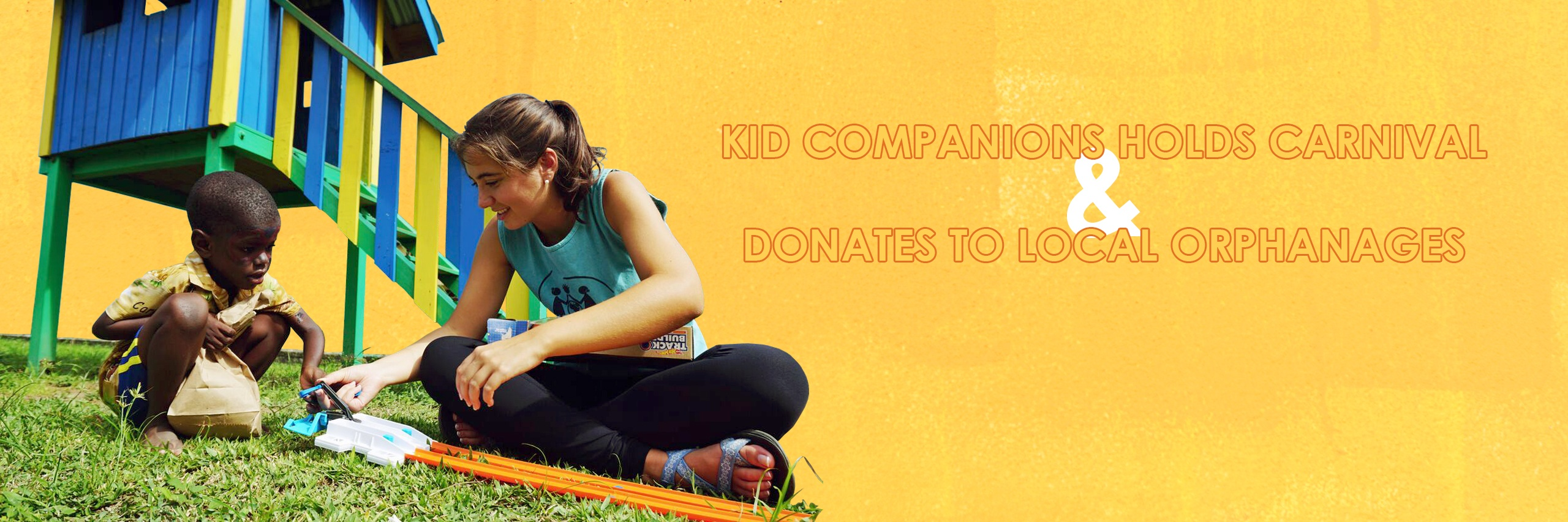 Kid Companions Holds Carnival and Donates to Local Orphanage