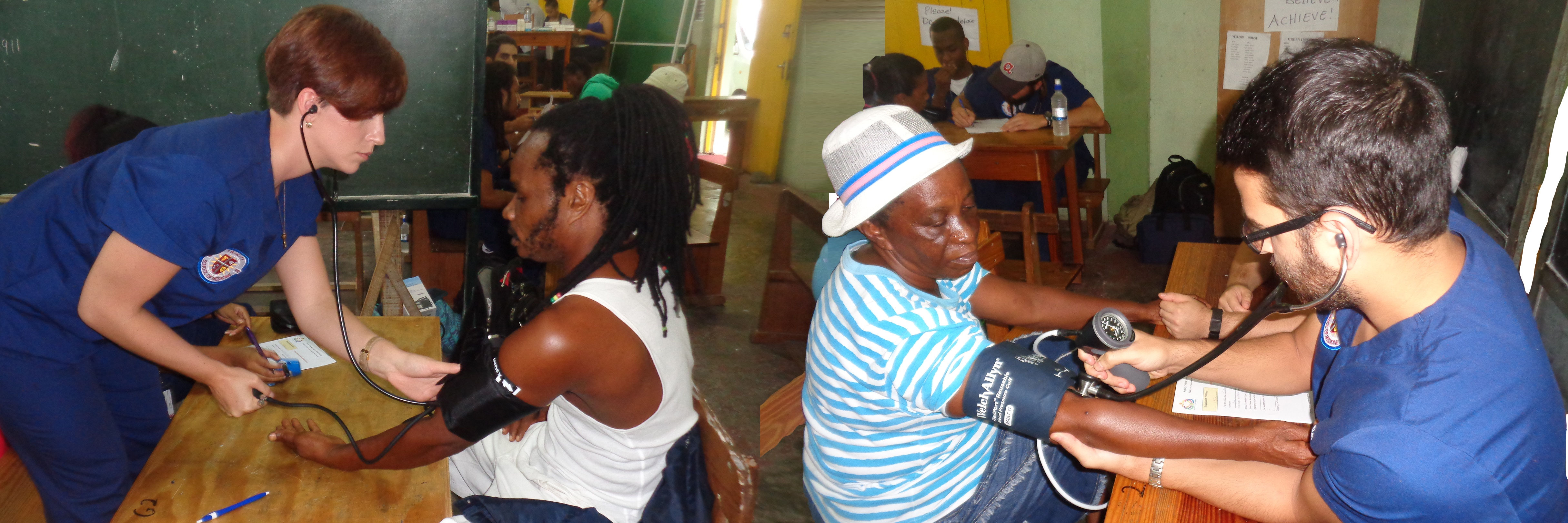 Trinity School of Medicine Students Participate in Village Doctor Medical Community Outeach